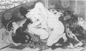 Секс на востоке в рисунках
